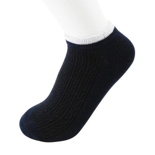 1 Paire Fashion Hommes Socquettes Low Cut ras du cou Soft Casual Sport Short Bateau Chaussettes