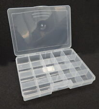 Screw nut bolt beads craft storage box organizer Darice Deluxe 10770 20 bins