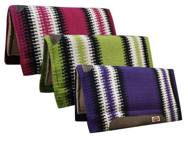 mostrareuomo Cutter SADDLE PAD 36 x 34 Memory Felt 100% nuovo Zeale Wool