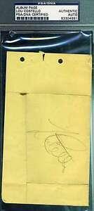 LOU-COSTELLO-SIGNED-ALBUM-PAGE-PSA-DNA-COA-AUTHENTIC-AUTOGRAPH