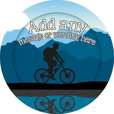 Mountain Bike Adesivo Con Le Etichette Per Party Borsa Dolce Coni-mostra Il Titolo Originale Novel (In) Design;