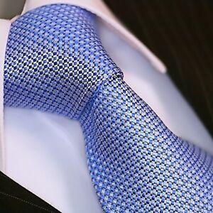 Binder-de-LUXE-cravate-tie-CRAVATE-CORBATA-Cravatte-Dassen-136-Bleu