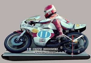 MINIATUR MODELL MOTORRAD in der Uhr YAMAHA VALENTINO ROSSI 03