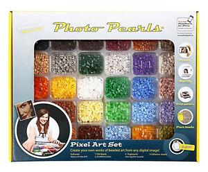 Photo Pearls® bunt Kit Nabbi 7.500 Bügelperlen Softwarecode f eigene Fotos 75598