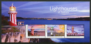 Architecture Amiable Australia 2018 Mnh Sydney Lighthouses Hornby 3v M/s Architecture Stamps With The Best Service