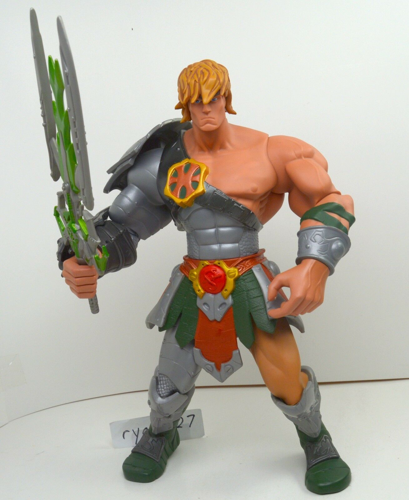 MOTU, Giant Snake Snake Snake Armor He-Man, 200x, complete, figure, Masters of the Universe c14fc0