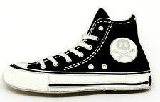 Skull Shoe Belt Buckle Black & White Rock Music Culture Skater Themed Product