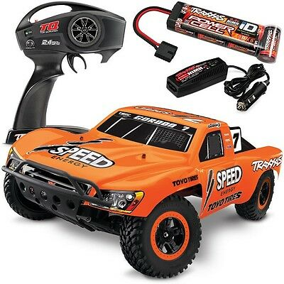 Traxxas 58034-1 Slash 2WD RTR Short Course Truck w/QUICK CHARGER - ROBBY GORDON