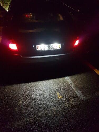 2XCar LED License Plate Light for BMW E46 323i 325i 328i 4D Touring 1998-2005