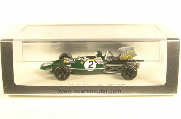 Lotus 69 No. 2 winner pau gp 1970 (Jochen Rindt)