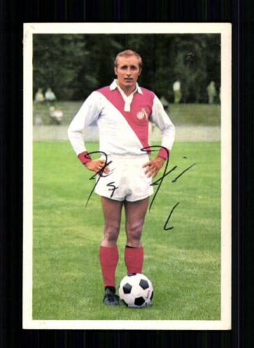 Heinz Hornig 1 FC Köln Bergmann Sammelbild 1968//69 Original Signiert