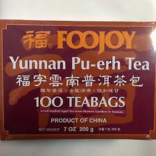 FooJoy - Yunnan Pu-Erh Tea - 100 Tea Bags