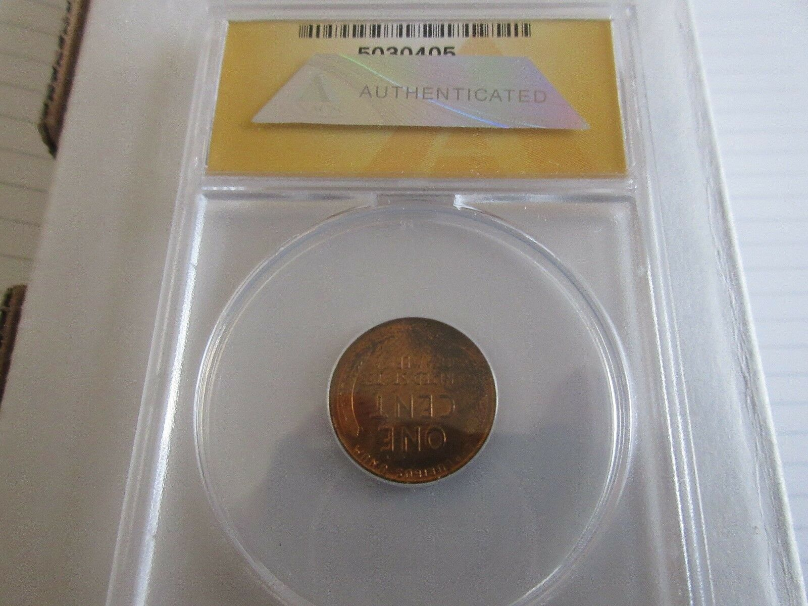 1940-S , Lincoln Penny , MS 64 , RB , Anacs