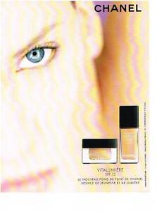 PUBLICITE ADVERTISING  2002   CHANEL  cosmétiques