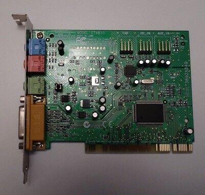 2019 Ultimo Disegno Creative Labs Sound Blaster Pci 128 Sound Card Scheda Audio Sb128 Ct4810 Es1371 Aspetto Elegante