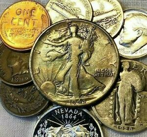 US-COIN-GRAB-BAG-20-CHOICE-COINS-SILVER-PROOF-amp-BU-INCLUDED-1-on-EBAY