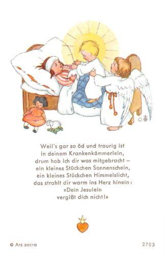 "Santo figurita imagen gebetbild /""ida bohatta/"" Holy card Ars sacra /""h231/"""