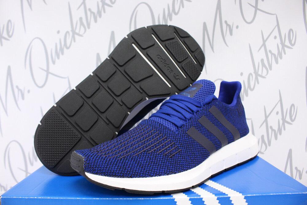 ADIDAS SWIFT courir PK SZ 11.5 fonctionnement chaussures ROYAL Bleu blanc PRIMEKNIT CG4118