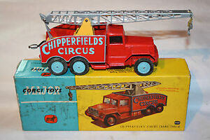 Camion grue Corgi 1121 Chipperfields, excellent état dans sa boîte d'origine
