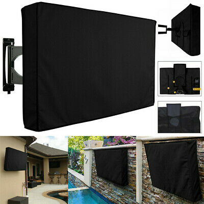 Outdoor TV Cover Black Weatherproof Universal Protector For 30/'/' to 58/'/' LED LCD