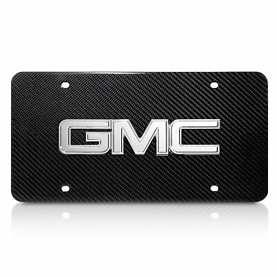 Trailhawk Badge Genuine Carbon Stainless Steel 3D Logo Finish License Plate