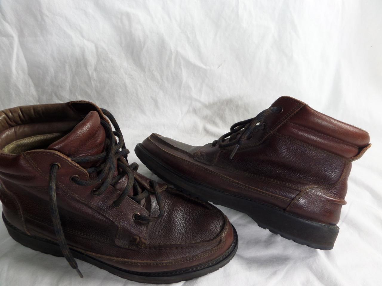 De Colección CABELAS GORE-TEX botas De Cuero Marrón 11 d trabajo de caza
