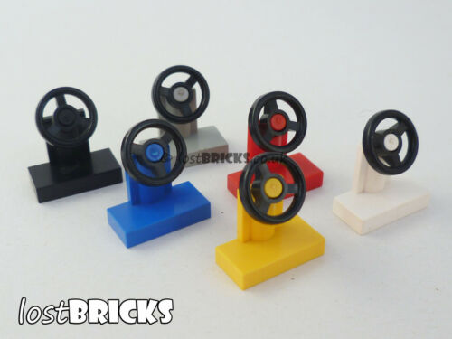 Part 3829 // 3829c01 5 x LEGO Vehicle Steering Stands 1x2 SELECT COLOUR