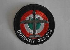 PATCH INTROVABILE ESERCITO ITALIANO DORNIER 228-212 ORIGINALE IN STOFFA