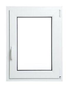Finestre in PVC doppio vetro con gas argon Larghezza di 800mm Differenti Altezze