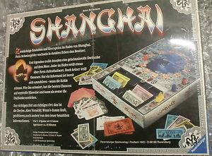 Vintage-Spiel-TOP-NEU-OVP-1997-SHANGHAI-Ravensburger-Gesellschaftsspiel-RAR