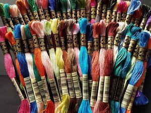 8 metres each 3x DMC Threads PICK UR OWN COLOURS FROM LIST