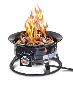 Outland Firebowl 893 Deluxe Outdoor Portable Propane Gas ... on Outland Firebowl Propane Fire Pit id=81566
