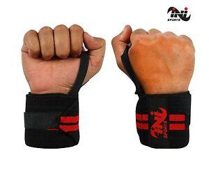 Weight-Lifting-Wrist-Wraps-Power-Gym-Training-Straps-Hand-Bar-Grip-Support-Brace