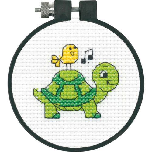 /'Learn a Craft/' Cross Stitch Kit ~ Dimensions Turtle #72-74882 SALE!