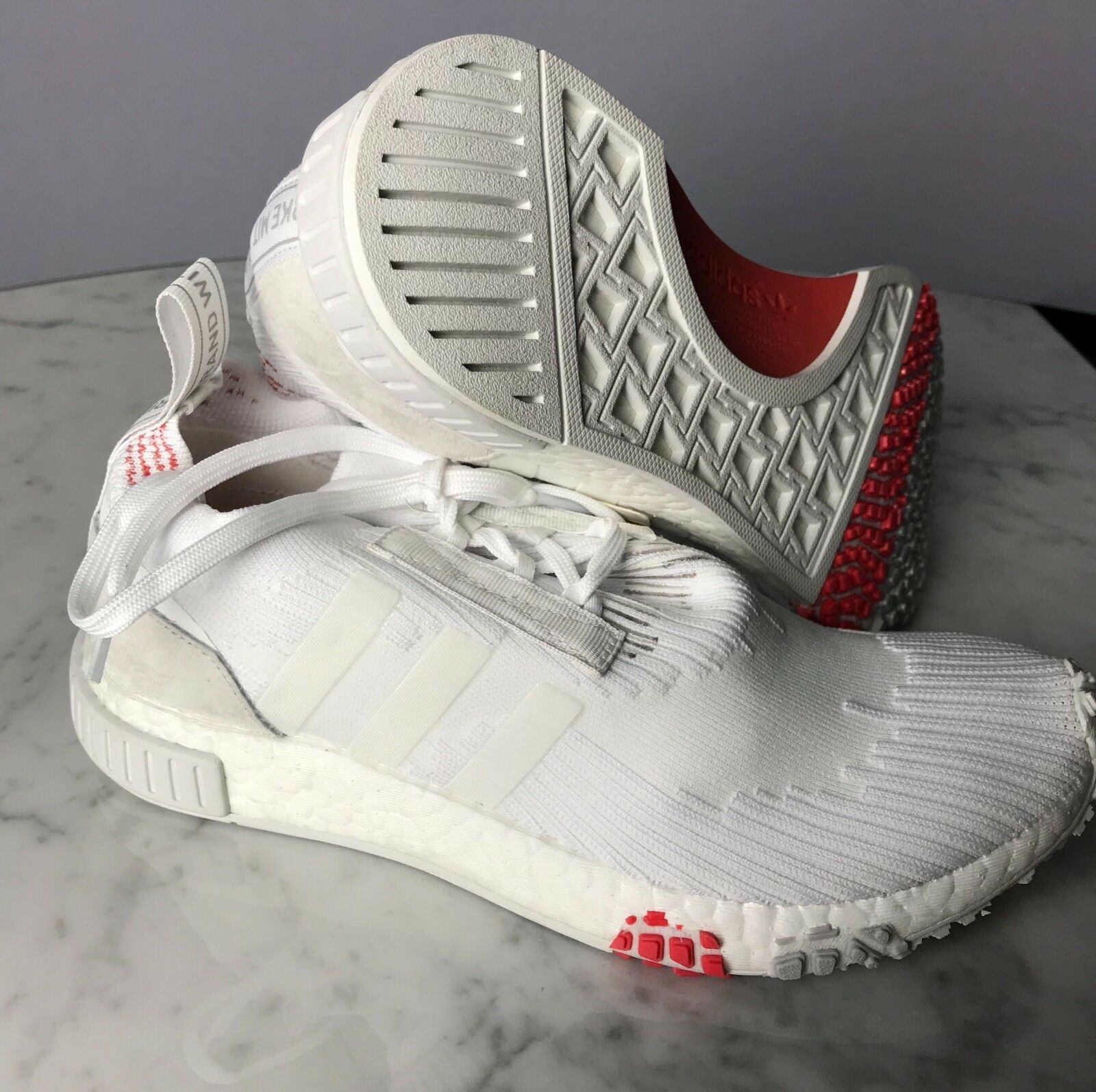 Adidas nmd / racer pk - ftwwht / nmd ftwwht / rascal - cq2033 - campione 2a4bc1