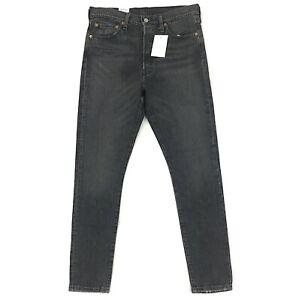 New-Levi-039-s-501-Skinny-Jeans-for-Women-Stretch-Fit-Black-Wash-Denim-501s-S