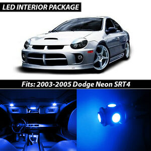 Image Is Loading 2003 2005 Dodge Neon Srt4 Blue Interior Led