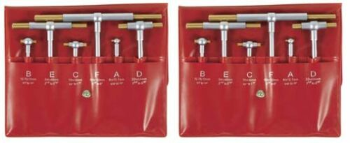 2 SETS TIN COATED 6pcs TELESCOPING GAGE WITH FREE SHIPPING $52.99
