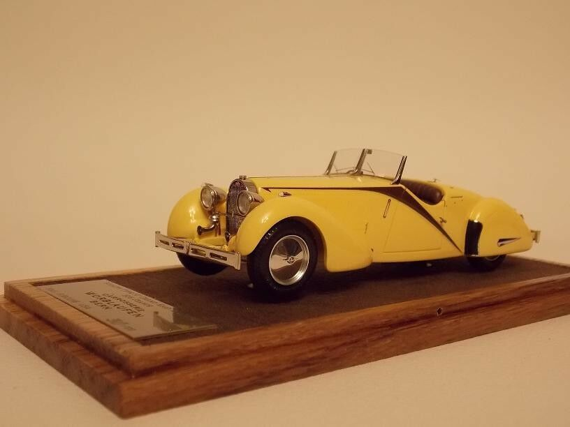 1/43 B&G/EUROLINE/EMC Bugatti Type 57 Grand Raid Raid Raid Roadster 1935 France Ch.  57260 fdd7dd