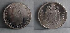 SPAIN KM#810 JUAN CARLOS I 100 PESETAS 1975 *76 UNC SIN CIRCULAR SC