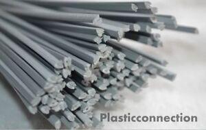 5mm pack of 20 pcs //triangular shape// black PP//PE  Plastic welding rods