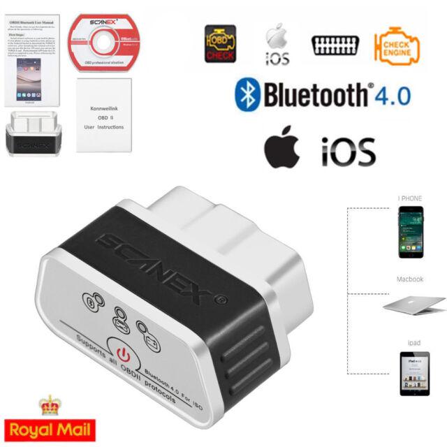 Bluetooth4 0 Car Obd2 OBDII IOS Auto Fault Code Reader Diagnostic Scanner  Elm327