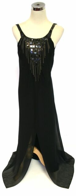 NWT BCBG MAX AZRIA $548 Black Prom Pageant Ball Gown 2