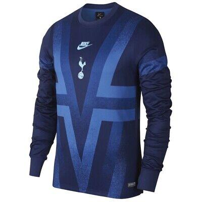 Nike Tottenham Hotspur Spurs 19 20 Crew Dry Training Shirt Large Bv2211 433 Ebay