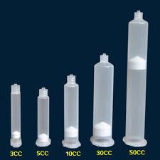 20x 3cc 30cc Usa Type Dispensing Syringe Needle Tips Plastic Industrial Barrel