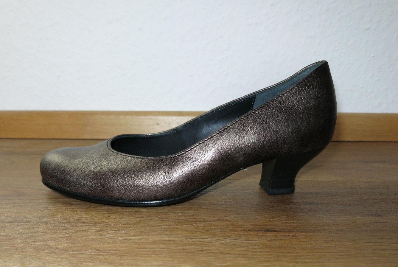 Gabor Damen braun Pumps Comfort G 4 Schuh Leder braun Damen EUR37,5 a5ee0a