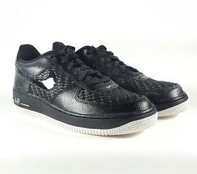Nike Air Force 1 LV8 (GS) Black Summit White Size 6.5Y 820438 010 | eBay
