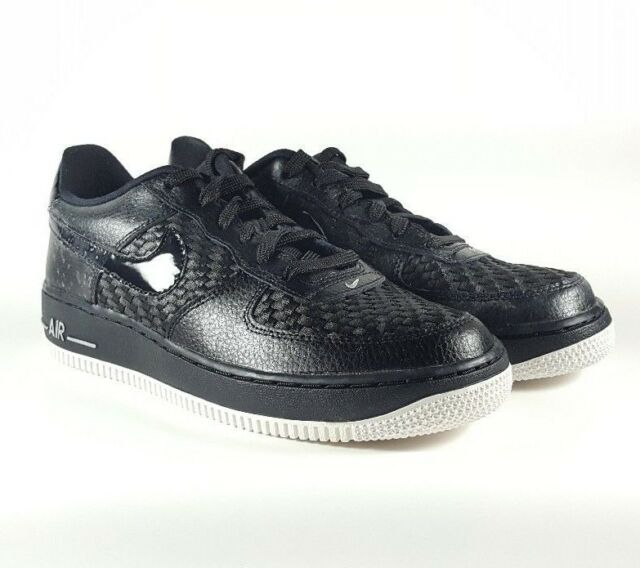 1794e5224c4a4 Nike Air Force 1 Low Lv8 GS Black White Unisex Size 6.5y EUR 39 ...