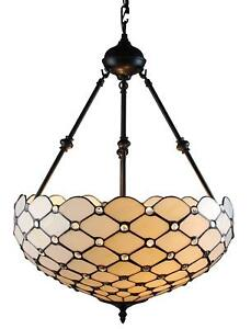 Details About Tiffany Style Hanging Pendant Lamp Light Chandelier Ceiling Dining Room Fixtures