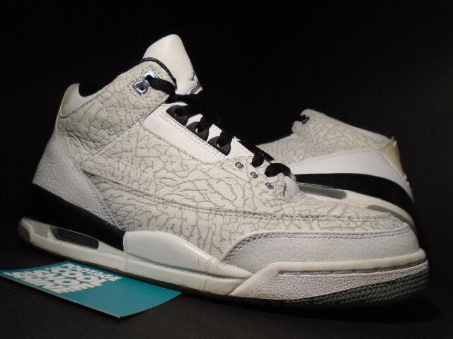 6a3b8996633 Nike Air Jordan 3 Retro Fire Red 136064-161 sz.12 2007 DS OG 88 Cement 11  Legend